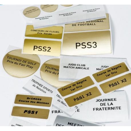 Etiquettes souples autocollantes et imprimées