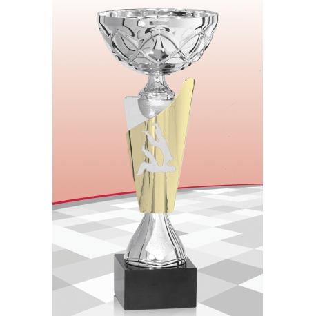 Coupe Judo Argent 15 cm
