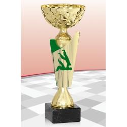 Coupe Economique  Judo Vert 15 cm